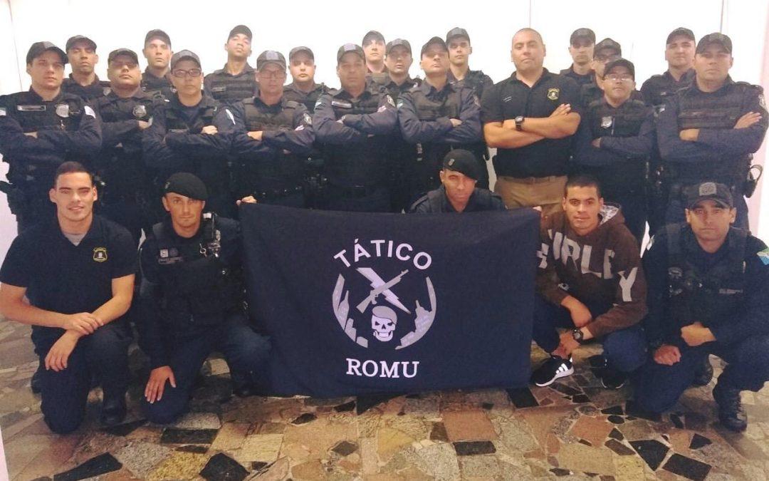 Grupo Risco Zero ministra instrução para as Guardas Municipais da Grande Curitiba.