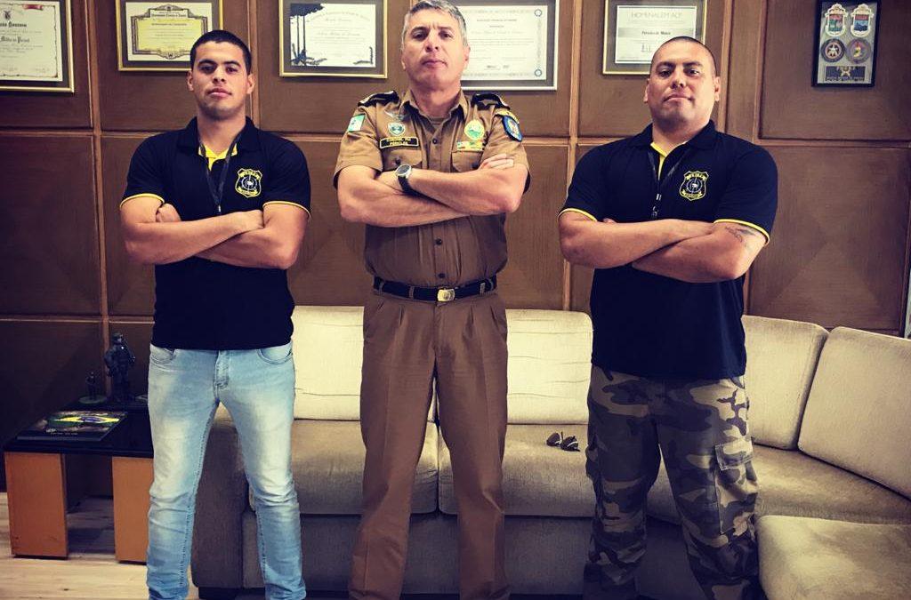 Visita ao Comando da Polícia Militar