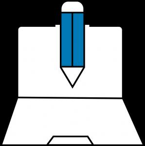 Ícone de planejamento