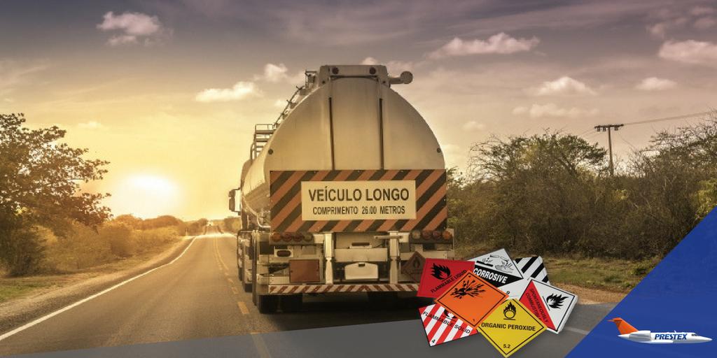 Como é feita a logística para o transporte de cargas perigosas