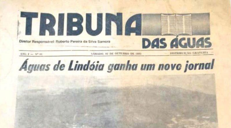 jornal Tribuna das Águas