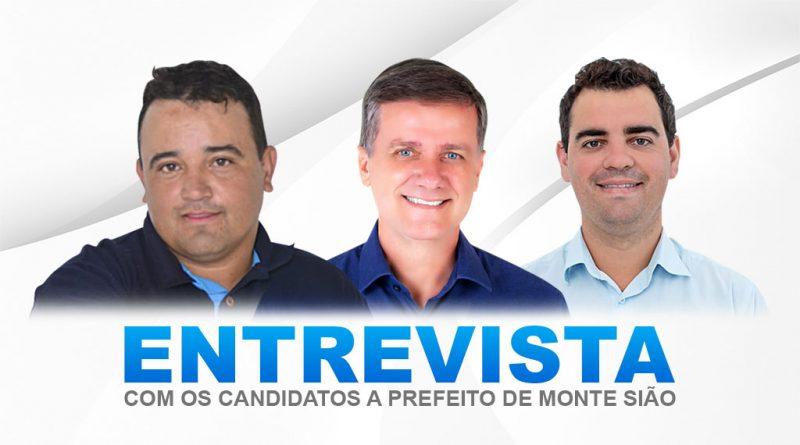 Entrevistas com os candidatos a prefeito de Monte Sião