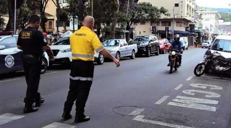 Trânsito de motos de outras cidades terá restrição nos próximos dois domingos em Serra Negra