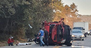 Acidente faz vítima fatal na rodovia Socorro / Pinhalzinho