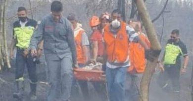 Amparo: Homem de 80 anos é resgatado em área incendiada