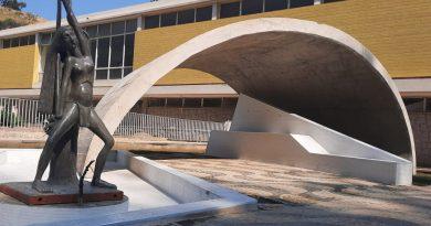 Fontanário ao lado do Balneário de Águas de Lindóia ganha escultura