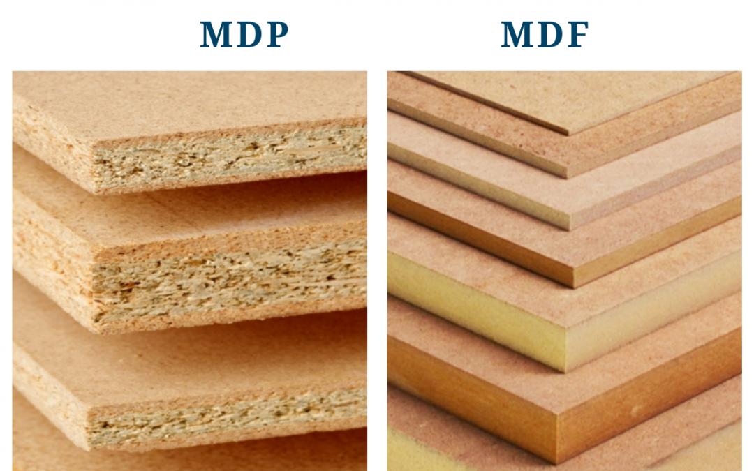 Qual o melhor material entre MDP e MDF?