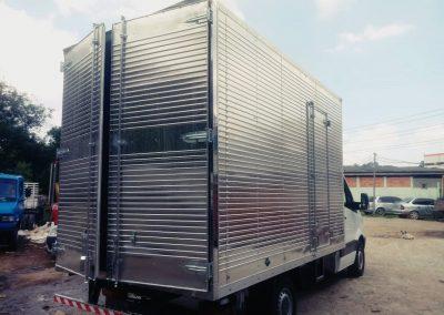 Baú de Alumínio -MB VUC 3