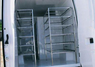 Isolamento Térmico Furgão MB2