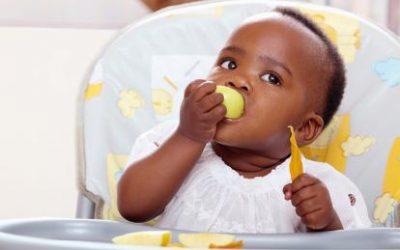 Introdução alimentar em bebês