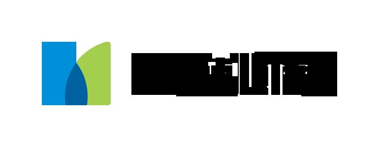 """Logotipo da MetLife. Trata-se de um logo com a palavra """"Metlife"""" em preto. Do lado esquerdo, há um ícone que forma a letra """"M"""", em duas cores: azul e verde."""