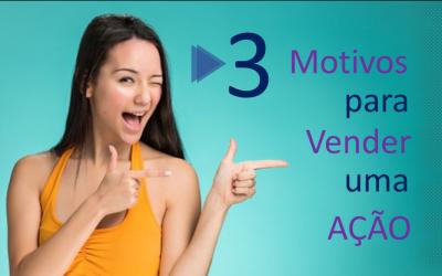 Não venda uma ação sem antes considerar estes 3 pontos