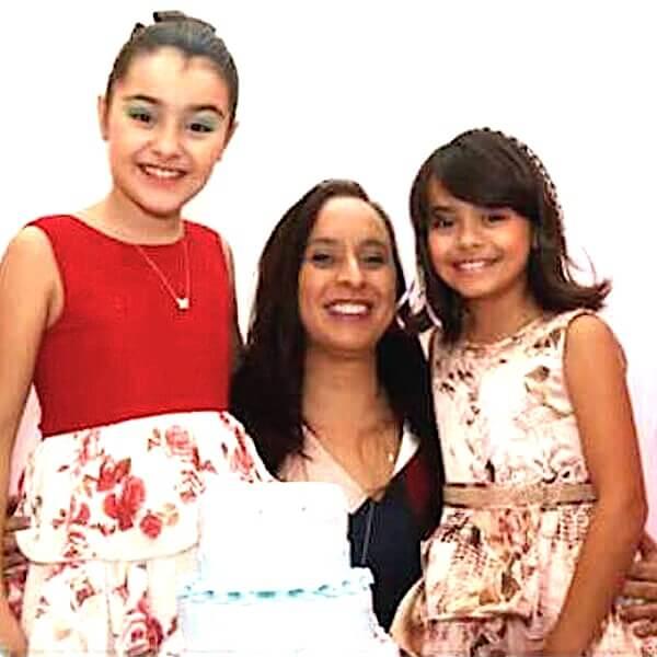 Rachel Aguiar e Isabella Aguiar