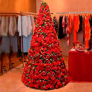 Árvore de Natal - locação de peças decorativas