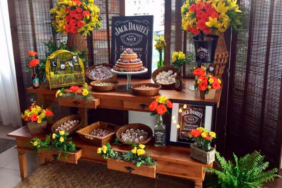 Decoração Chá de panela - Festejare Decorações e Flores