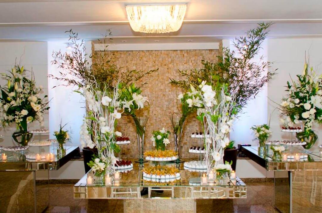 Decoração para eventos de confraternizações de empresas - Festejare Decorações e Flores