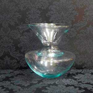Vaso de vidro-locação de peças decorativas