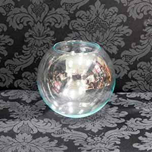 Vaso de vidro aquário-locação de peças decorativas