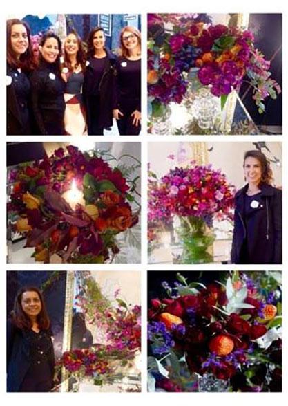Arte Floral - Forma cor e textura - ETAF