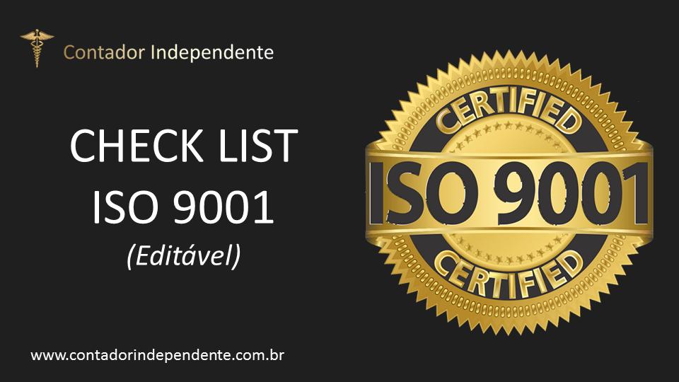 ISO 9001 Check List de Monitoramento