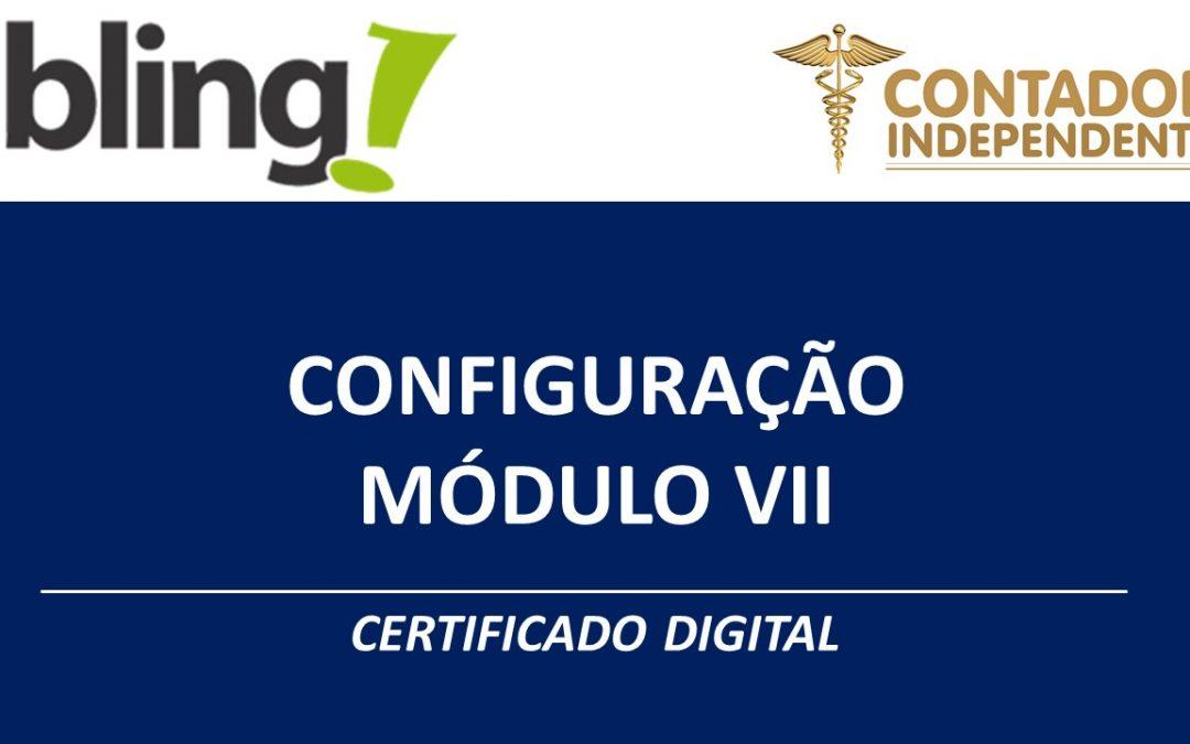 Bling certificado digital