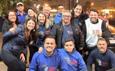 ONG Torre Forte vai as ruas em noite fria alimentar quem precisa