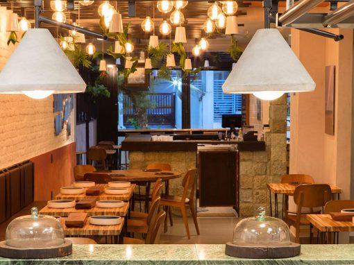Restaurante Madê 260m² – Santos