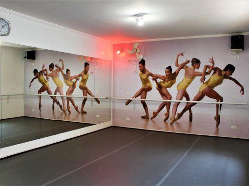 Estúdio de dança 160m² – Aclimação