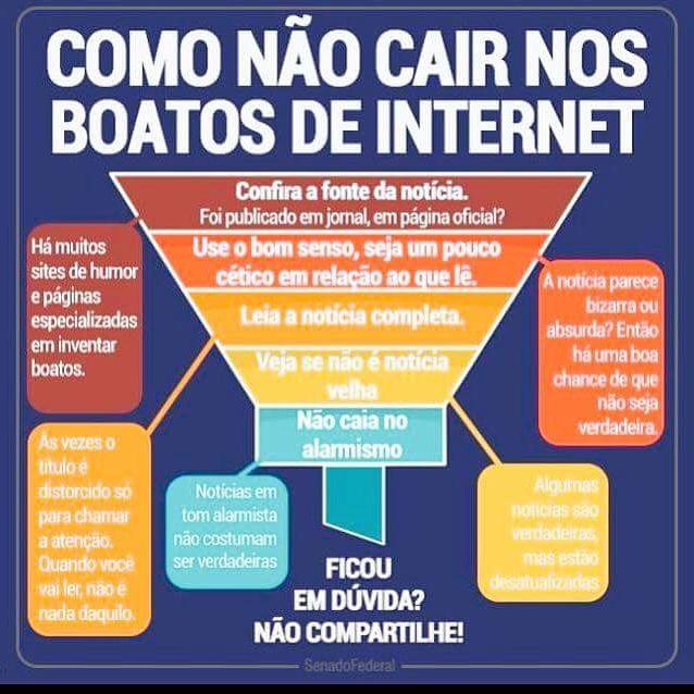 Marketing Digital Boatos na Internet