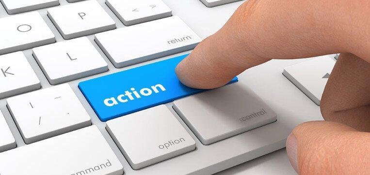 """Você sabe o que é call to action, """"chamada para ação"""" ?"""