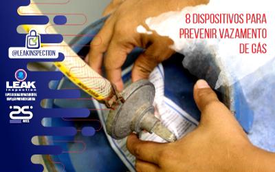 8 dispositivos para prevenir vazamento de gás